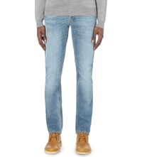 Nudie Jeans Grim Tim Slim Fit Straight Jeans Best Coast Blues