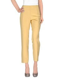 Cantarelli Trousers Casual Trousers Women Yellow