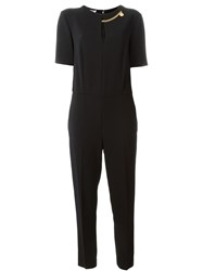 Stella Mccartney 'Falabella' Chain Jumpsuit Black
