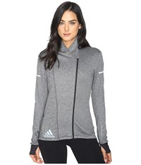 Adidas Sequencials Climaheat Wrap Jacket Black Women's Coat