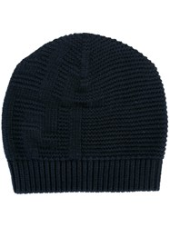 Fendi Knit Beanie Blue