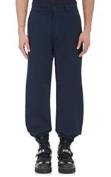Hood By Air Men's Drill Trousers Blue