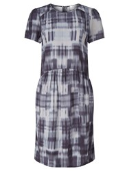 John Lewis Collection Weekend By Patchwork Print Shift Dress Indigo
