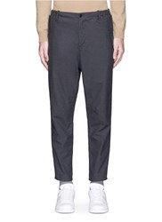 Covert Cotton Hopsack Chinos Grey