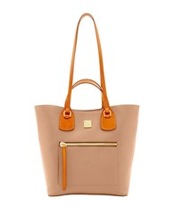 Dooney And Bourke Raleigh Jenny Leather Tote Mushroom