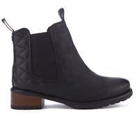 Barbour Women's Latimer Leather Chelsea Boots Black