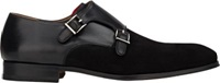Duckie Brown Double Monk Strap Black