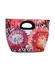 Pianurastudio Handbags Fuchsia