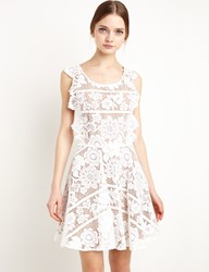 Pixie Market For Love And Lemons Gianna Lace Apron Dress