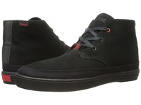 Chrome Suede Forged Chukka Black Black Athletic Shoes