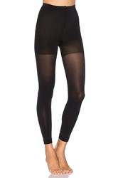 Spanx Luxe Leg Footless Tights Black