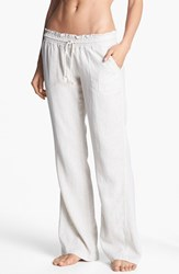 Women's Roxy 'Oceanside' Beach Pants Stone
