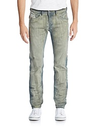 Diesel Slim Fit Belther Straight Leg Jeans Denim