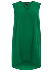 Evans Plus Size Live Unlimited Pocket Tunic Green