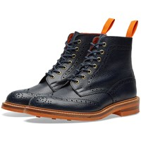 Tricker's End. X Club Sole Stow Boot Blue
