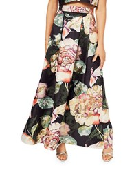 Miss Selfridge Floral Print Pleated Skirt Multi