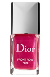 Christian Dior Dior 'Vernis' Gel Shine And Long Wear Nail Lacquer 769 Front Row