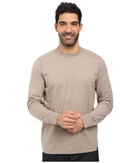 Prana Decco Crew Mud Men's Long Sleeve Pullover Taupe