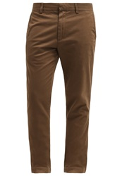 Banana Republic Fulton Chinos Dark Acorn Dark Brown