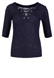 Only Onlfreja Print Tshirt Night Sky Dark Blue