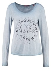 S.Oliver Long Sleeved Top Dusty Petrol
