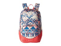 The North Face Wise Guy Backpack Native Frequencies Print Calypso Coral Backpack Bags Multi