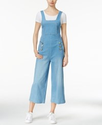 Rachel Rachel Roy Denim Gaucho Overalls Marrakesh