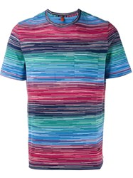 Missoni Striped T Shirt Multicolour