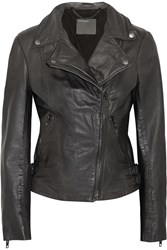 Muubaa Chello Leather Jacket Black