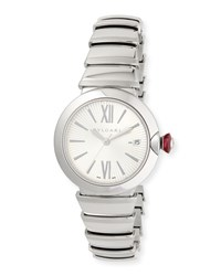 Bulgari 36Mm Lvcea Stainless Steel Watch Bvlgari