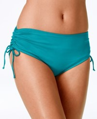 24Th And Ocean Tummy Control Side Tie Bikini Bottom Women's Swimsuit
