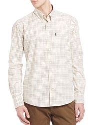 Barbour Charles Checkered Long Sleeve Shirt Lawn