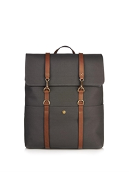 Mismo Leather Strap Backpack