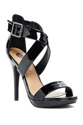 Michael Antonio Luckey Patent Heel Pump Black