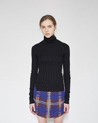 Acne Studios Carin Merino Turtleneck Black