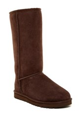 Ugg Classic Genuine Shearling Tall Boot Brown