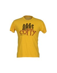 Review Topwear T Shirts Men Yellow