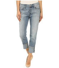 Level 99 Morgan Slouchy Straight In Breakwater Breakwater Women's Jeans Blue