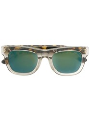 Retrosuperfuture 'Ciccio Sportivo' Sunglasses Nude And Neutrals