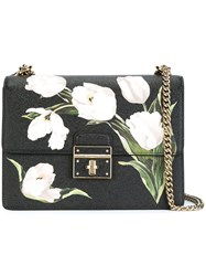 Dolce And Gabbana 'Rosalia' Shouder Bag Black