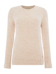 Barbour Knit Kirby Crew Cream