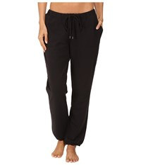Yummie Tummie French Terry Vintage Sweatpants Black Women's Casual Pants