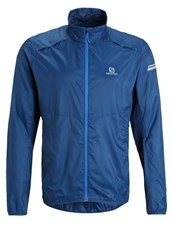 Salomon Agile Sports Jacket Midnight Blue