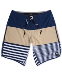 Rusty Balance Board Shorts Navy Blue