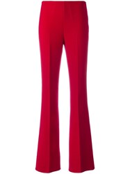 Theory Pleated Flared Trousers