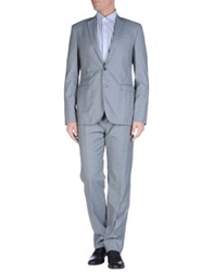 Bikkembergs Suits Grey