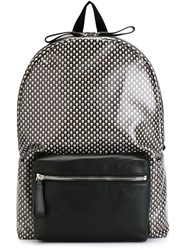 Alexander Mcqueen Skull Print Backpack Black