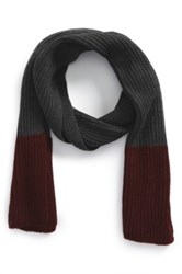 The Rail Colorblock Scarf Red