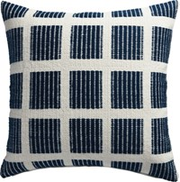 Cb2 Quad 20'' Pillow With Feather Insert