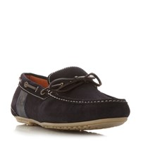 Barbour Spinnaker Contrast Lace Drive Shoe Navy